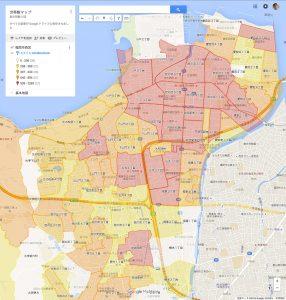 デフォルトの背景地図