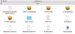 QGISの複数パッケージ