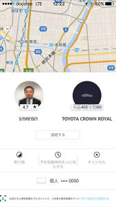 ドライバーと車の情報