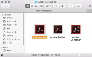 Adobe Acrobat DC アプリケーション