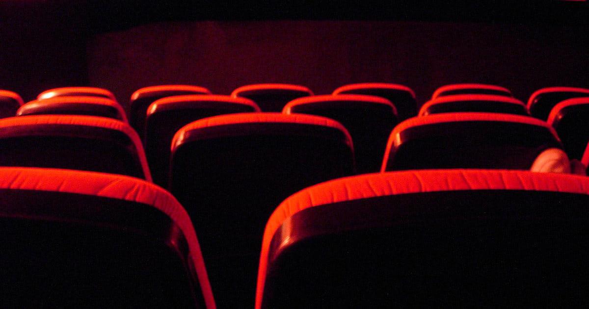 赤い座席シート