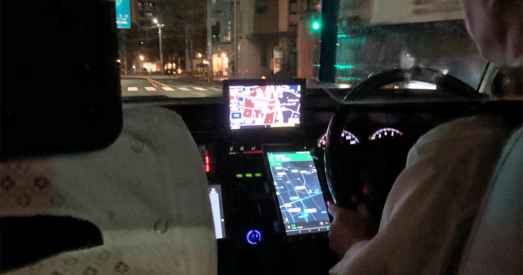 Uber Taxiのドライバーさん