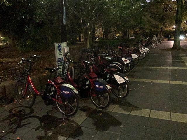 ドコモ・バイクシェア:東京都内