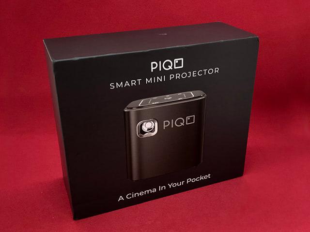 Piqoプロジェクターのパッケージ正面
