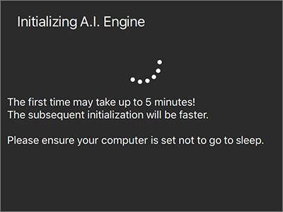 AIエンジンの初期化