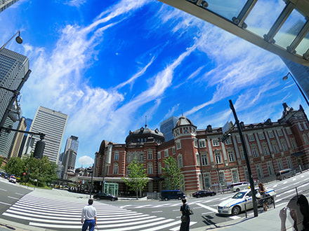 東京駅:Photoshop