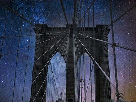 吊り橋:Photoshop