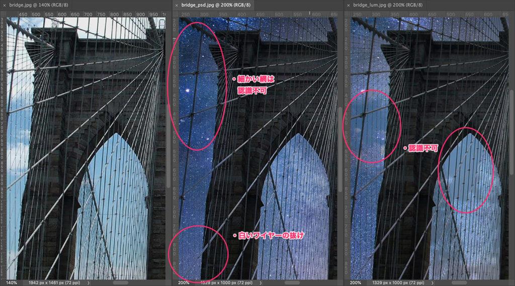 細かい点はあるものの全体の雰囲気は妥当か…ただLuminarは抜けが気になる