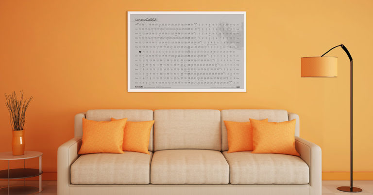 月齢アートカレンダー