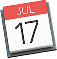 Macのカレンダー.appアイコン